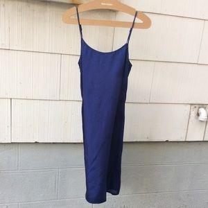 Vintage Silk Strappy Dress